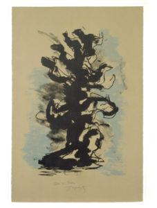 Jacques-Liptchitz.-Untitled.-(Sculptural-forms-1).-1970.--91x60cm